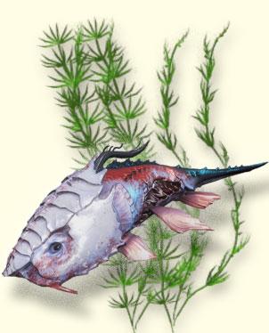 Мортус рогозуб. Рыбалка Warframe