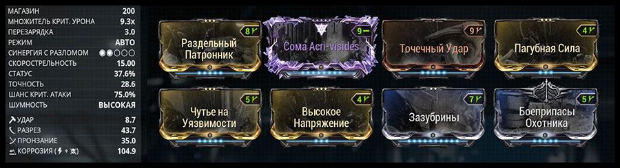 Билд Сомы - 2. Моды